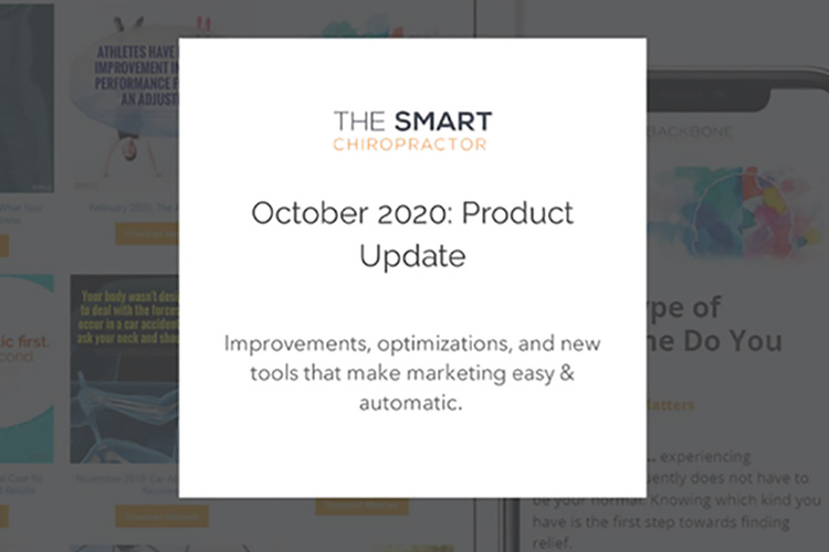 The Smart Chiropractor Oct 2020 Chiropractic Email Templates and More