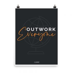 Outwork Everyone Chiropractic Poster