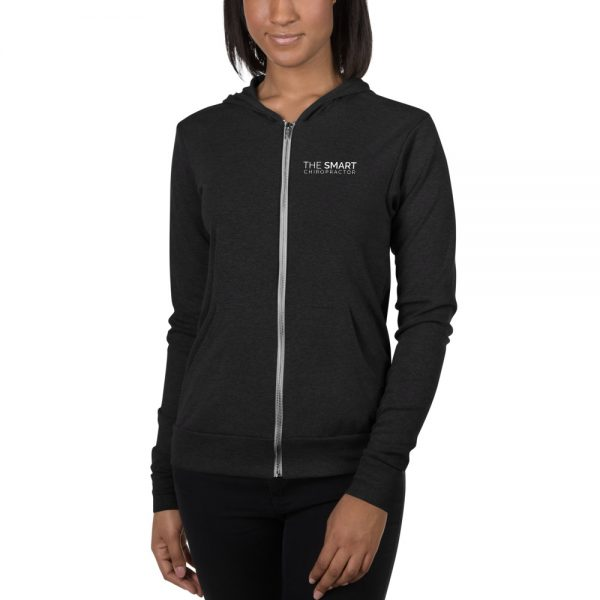 The Smart Chiropractor Logo Hoodie