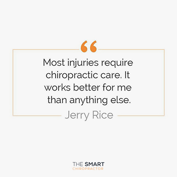 Professional Sports and Chiropractic: Jerry Rice