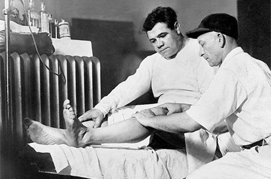 Professional Sports and Chiropractic: Babe Ruth