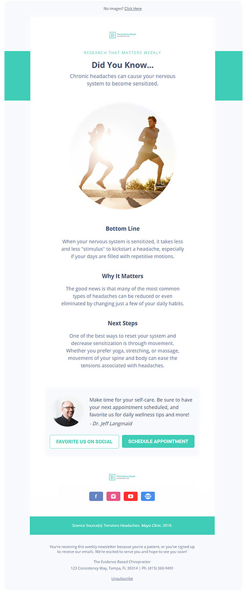 Chiropractic Email Marketing Mistakes: Design Matters
