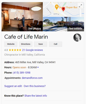 Optimize Your Chiropractic Google My Business Listing: Business Info