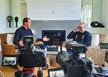 Smart Chiropractor Founders Jeff and Jason Use Their Favorite Recording Equipment to Shoot a New Video